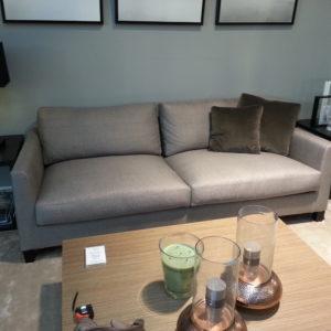 canapé contemporain gris